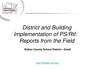 Walton County School District—Small floridartif/