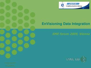 EnVisioning Data Integration