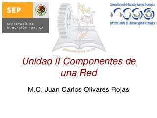 Unidad II Componentes de una Red