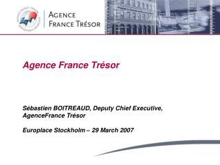 Agence France Tr sor