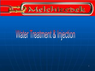 Water Treatment  Injection