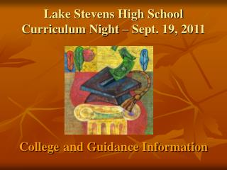 Lake Stevens High School Curriculum Night – Sept. 19, 2011