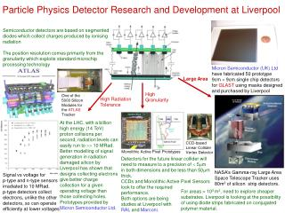 Particle Physics Detector Research and Development at Liverpool