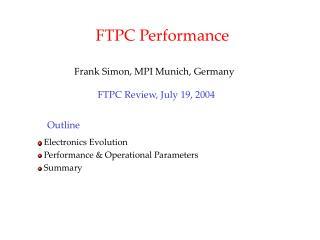 FTPC Performance