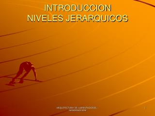 INTRODUCCION NIVELES JERARQUICOS