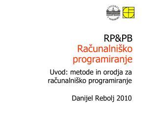 RP&PB Ra?unalni�ko programiranje