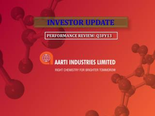 PERFORMANCE REVIEW: Q3FY13