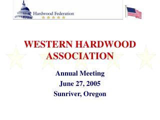 WESTERN HARDWOOD ASSOCIATION