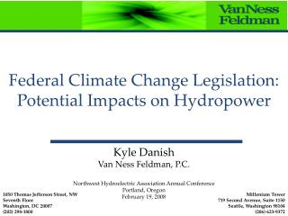 Federal Climate Change Legislation: Potential Impacts on Hydropower