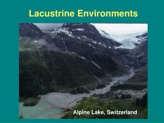 Lacustrine Environments