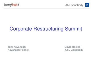 Corporate Restructuring Summit