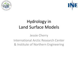 Hydrology in  Land Surface Models