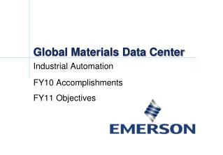 Global Materials Data Center