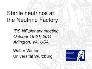 Sterile neutrinos at  the Neutrino Factory
