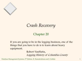 Crash Recovery