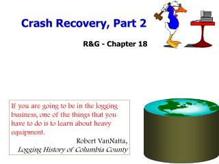 Crash Recovery, Part 2