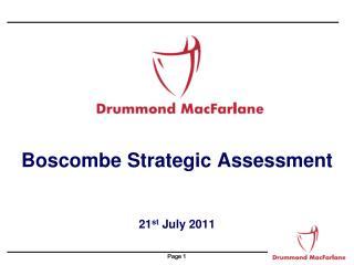 Boscombe Strategic Assessment