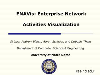 ENAVis: Enterprise Network Activities Visualization
