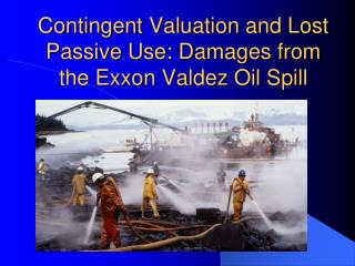 Contingent Valuation and Lost Passive Use: Damages from the Exxon Valdez Oil Spill