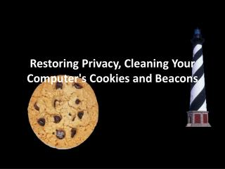 Restoring Privacy, Cleaning Your Computer's Cookies and Beacons
