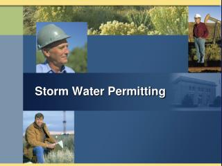 Storm Water Permitting