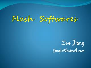 Flash   Softwares