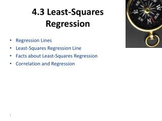 4.3 Least-Squares Regression