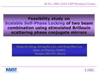 Feasibility study on