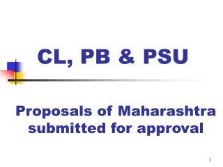 CL, PB & PSU