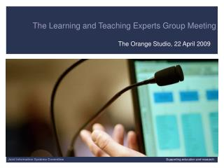 The Learning and Teaching Experts Group Meeting