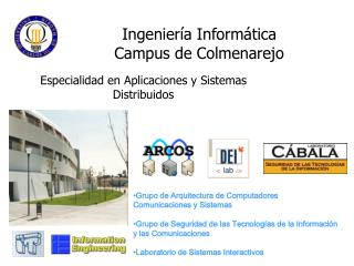 Ingeniería Informática Campus de Colmenarejo