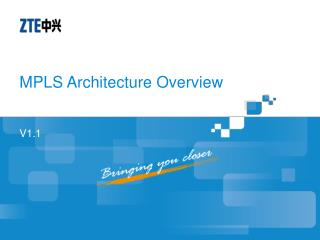 MPLS Architecture Overview