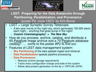 LSST = Large Synoptic Survey Telescope: