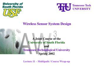 Wireless Sensor System Design