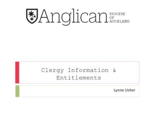 Clergy Information & Entitlements