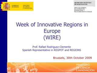 The Lisbon strategy for growth and jobs and EU regional policy    DG REGIO