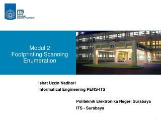 Modul 2 Footprinting Scanning  Enumeration