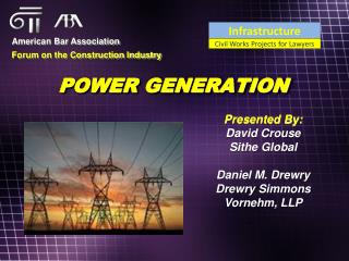 POWER GENERATION