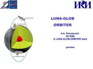 LUNA-GLOB ORBITER