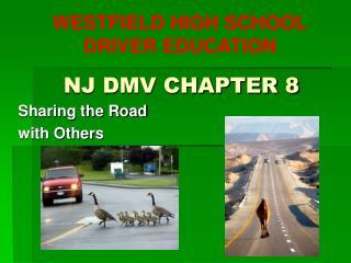 NJ DMV CHAPTER 8
