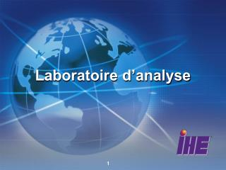 Laboratoire d'analyse