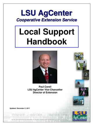 LSU AgCenter  Cooperative Extension Service