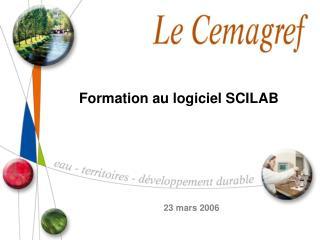 Formation au logiciel SCILAB