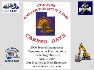 2006 Second International Symposium on Transportation Technology Transfer Aug. 2, 2006