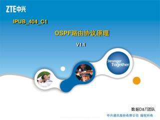 OSPF 路由协议原理