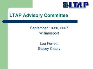 LTAP Advisory Committee