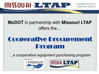 Cooperative Procurement Program
