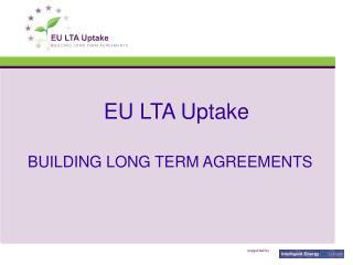 EU LTA Uptake