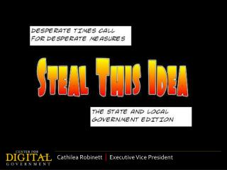 Cathilea Robinett   |   Executive Vice President