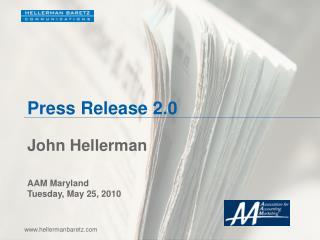 Press Release 2.0